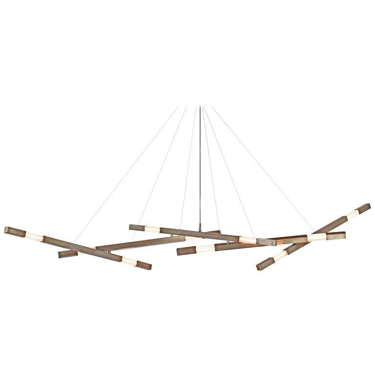 Dynamic Fuse Stilk Chandelier - Contemporary Chandelier - Adjustable Chandelier For Sale