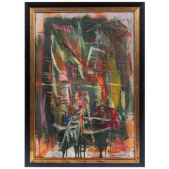 Signed, Original, Italian Abstract Painting