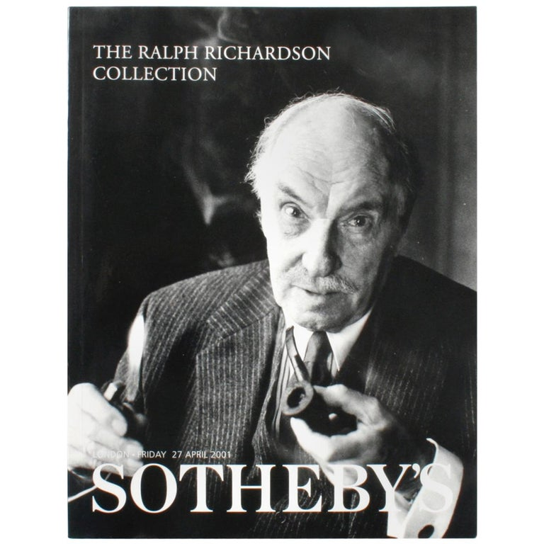 Sotheby's, the Ralph Richardson Collection, April 2001 For Sale