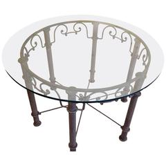 American Iron and Glass Table, 1900-1920