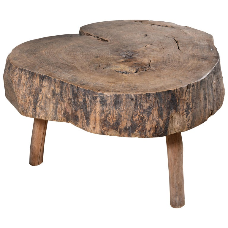 Primitive Wood Table For Sale