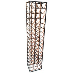 Arthur Umanoff 48 Bottle Wine Rack