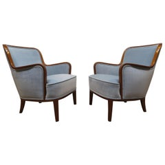 Pair of Carl Malmsten Chairs