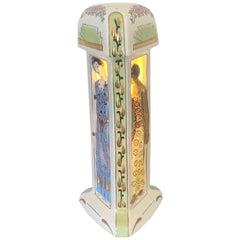 Französische Art déco Parfüm Brenner Lampe, von Duchaussy