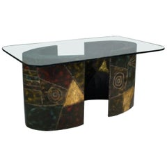 Paul Evans Pedestal Dining Table for Directional
