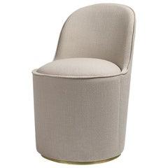 Tail High Back Modern Italian Style Chauffeuse Lounge Chairs