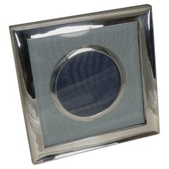 Antique English Sterling Silver Photograph Frame, Chester, 1903