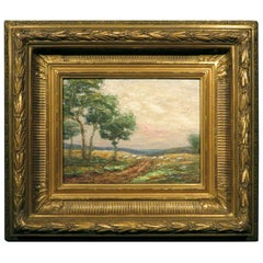 Late 19th-Early 20th Century Barbizon School Landscape, Continental Circa 1900