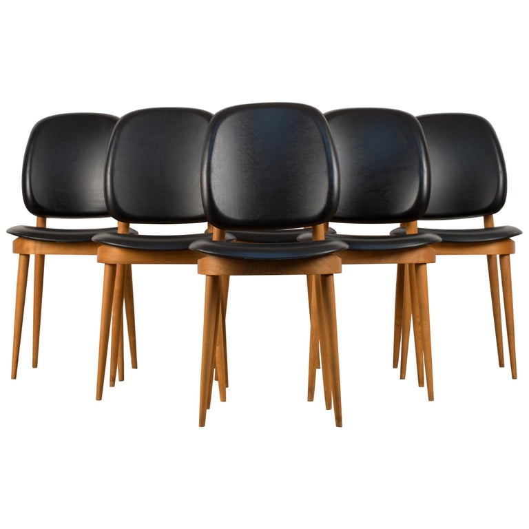 'Pegase' Chairs by Pierre Guariche, France, 1960s For Sale
