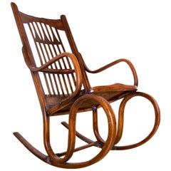 Jacob & Josef Kohn Rocking Chair No. 816