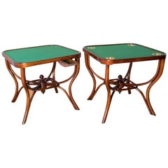 Wien Thonet Secession Card Table