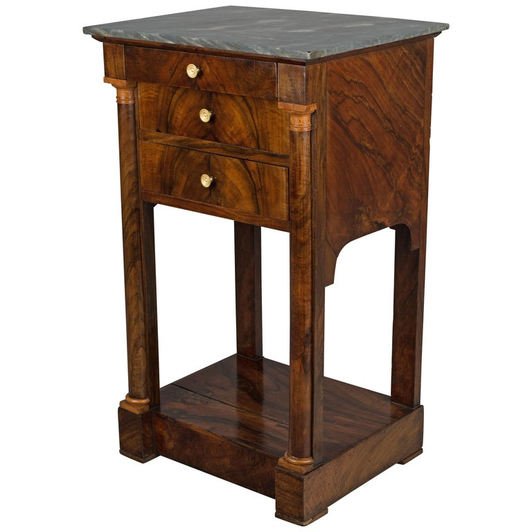 19th Century French Empire Side Table For Sale