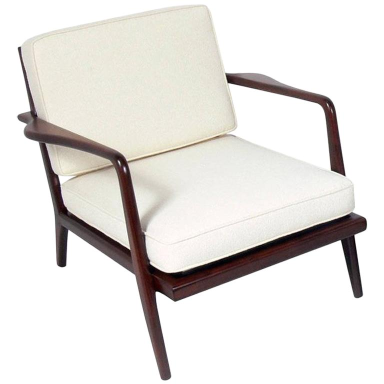 Modern Lounge Chair Designed by Mel Smilow For Sale