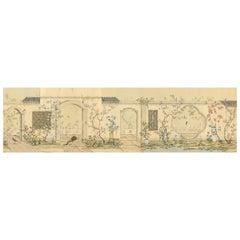 Emperor's Garden Chinoiserie Mural