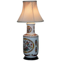 Lovely Decorative Chinese Vase Converted into a Table Lamp Decorative Piece