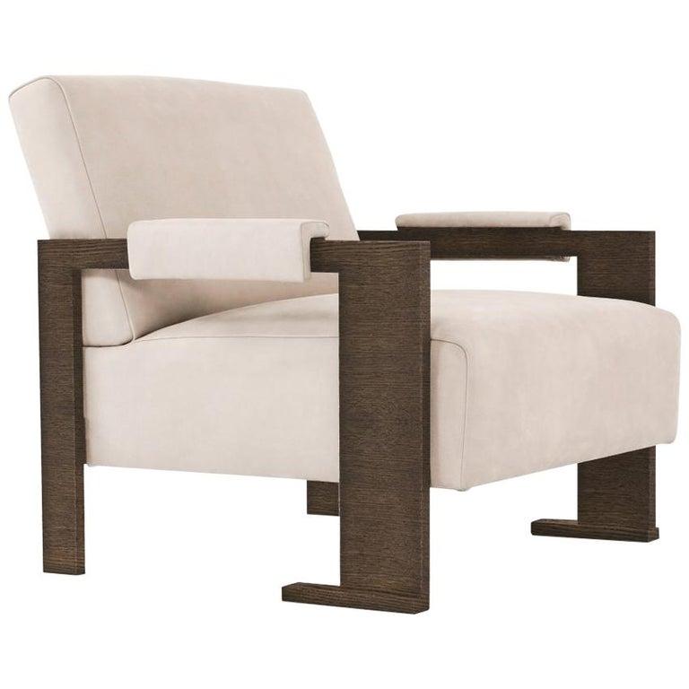 Sol Armchair - Oak Finish - Size II For Sale