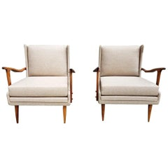 Sofa and Pair of Armchairs by Giuseppe Scapinelli