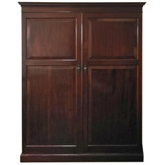 19th Century Regency Mahogany Wardrobe