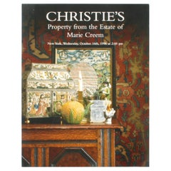 Christie's: Property from the Estate of Marie Creem, October 1996