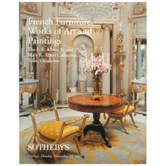 Sotheby's: French Furniture, Works of Art and Paintings, Mary & E.R. Albert Jr