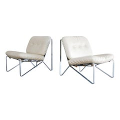 Hartmut Lohmeyer Pair of Lounge Chairs for Mauser Werke Waldeck, 1960