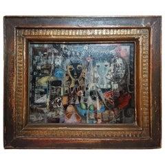 Jean Calogero, Oil Con Canvas, circa 1950