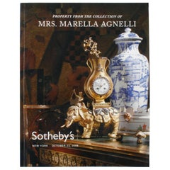 Sotheby's: Property from the Collection of Mrs. Marella Agnelli New York 10/2004