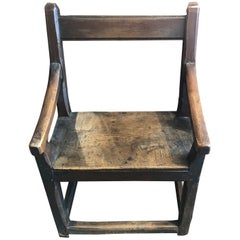 18th Century French Oak Chair