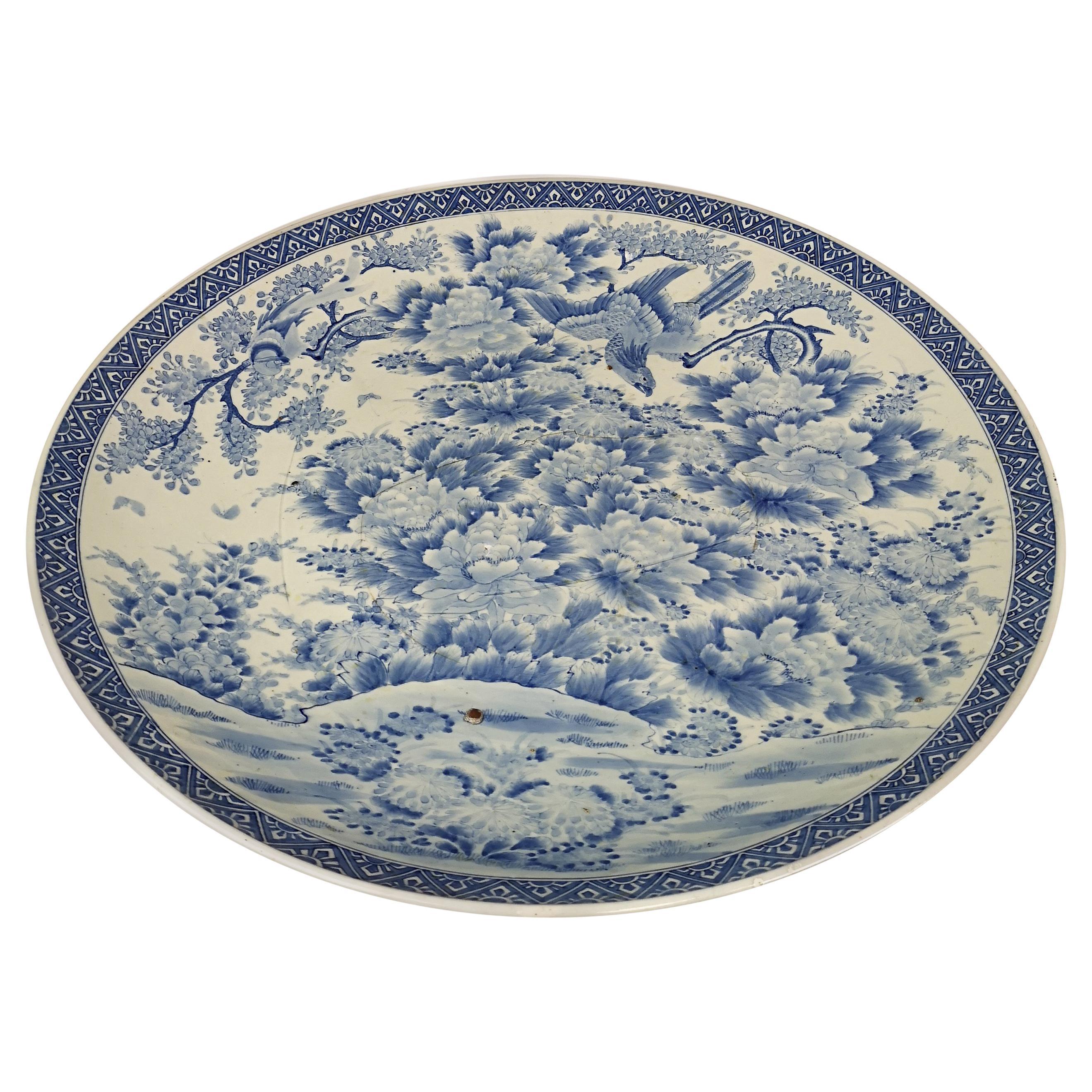 Massive Antique Japanese Arita Porcelain Emperor Meiji