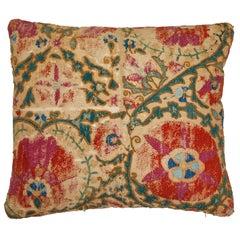 Antique Suzani Pillow