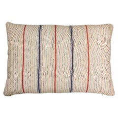 Indian Kantha Stitched Pillow