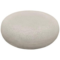 Cast Resin 'Pebble' Cocktail Table, Natural Stone Finish by Zachary A. Design