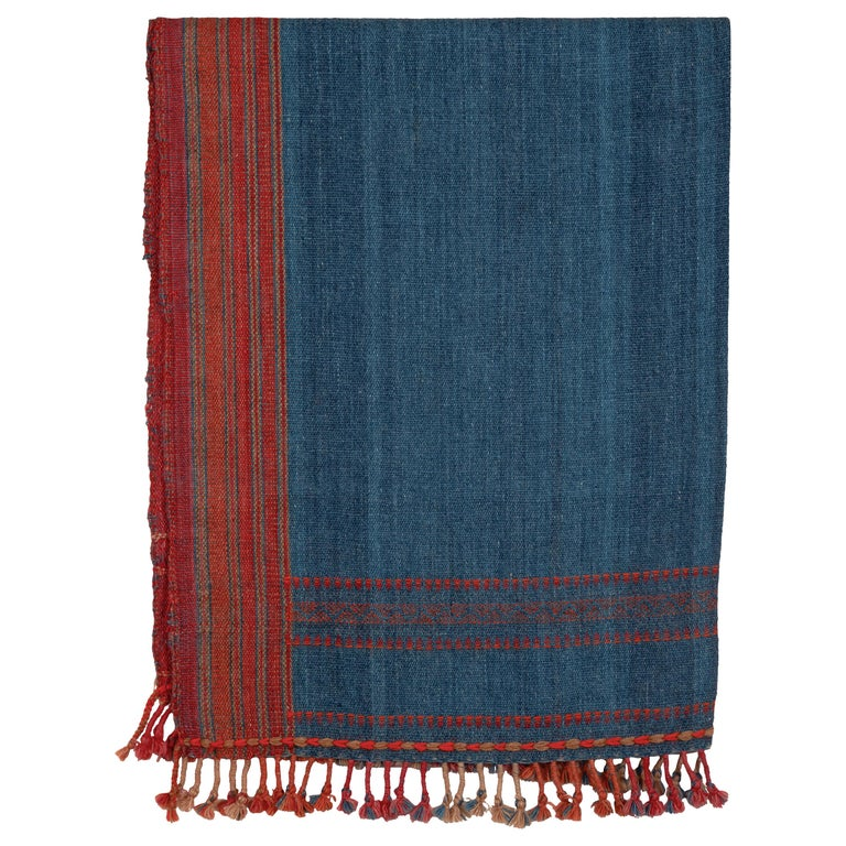 Kutch Handwoven Wool Throw For Sale