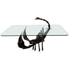 Bronze Scorpion Coffee Table
