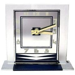 Rare 1930s Art Deco Modernist Alarm Clock by ATO
