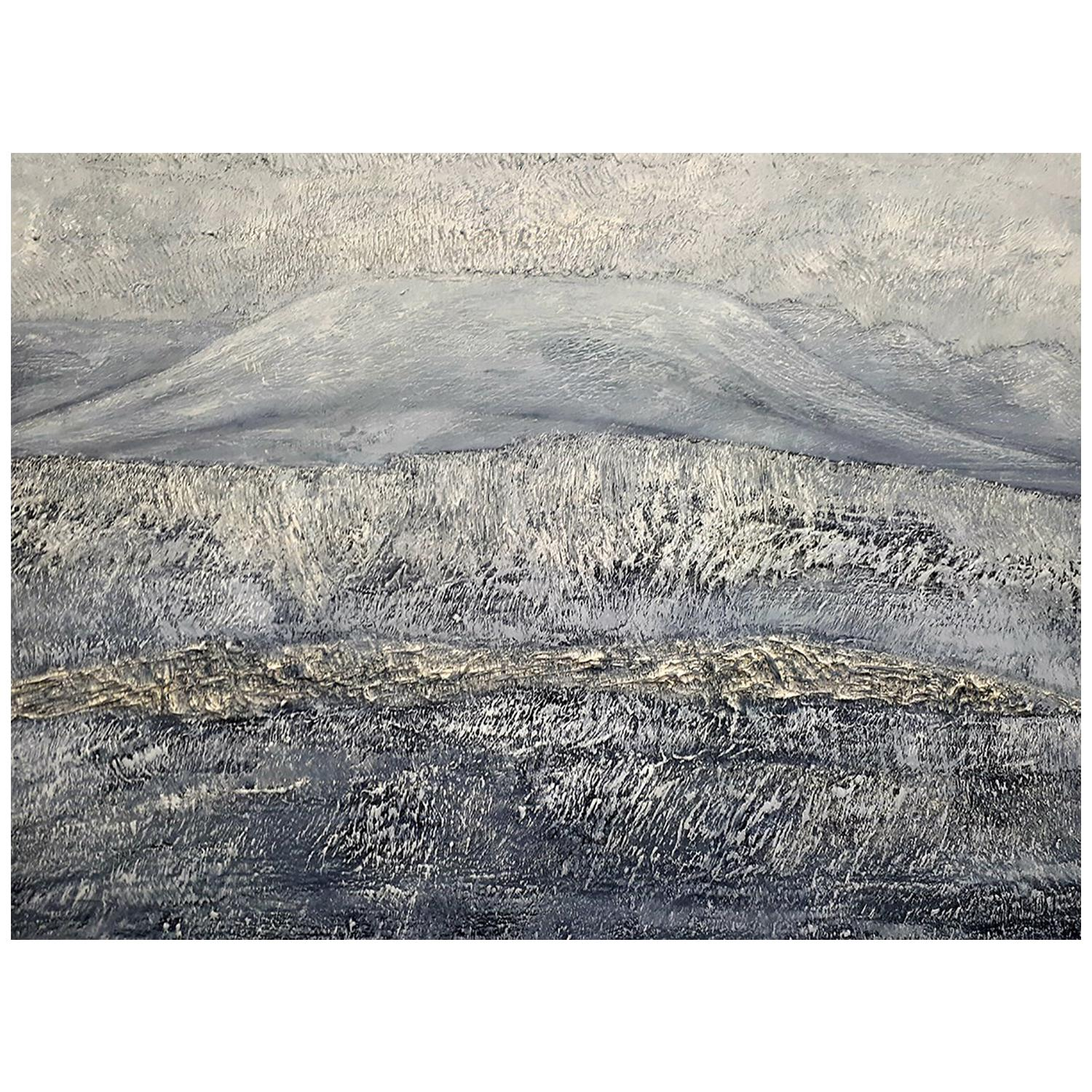 Echos from Usher Hill, Contemporary Oil Landscape