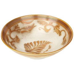 Alan Caiger-Smith Aldermaston Studio Pottery Lustre Bowl