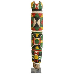 Case Pillar B Sculpture Polychrom Rimaïbé Burkina Faso, 1975