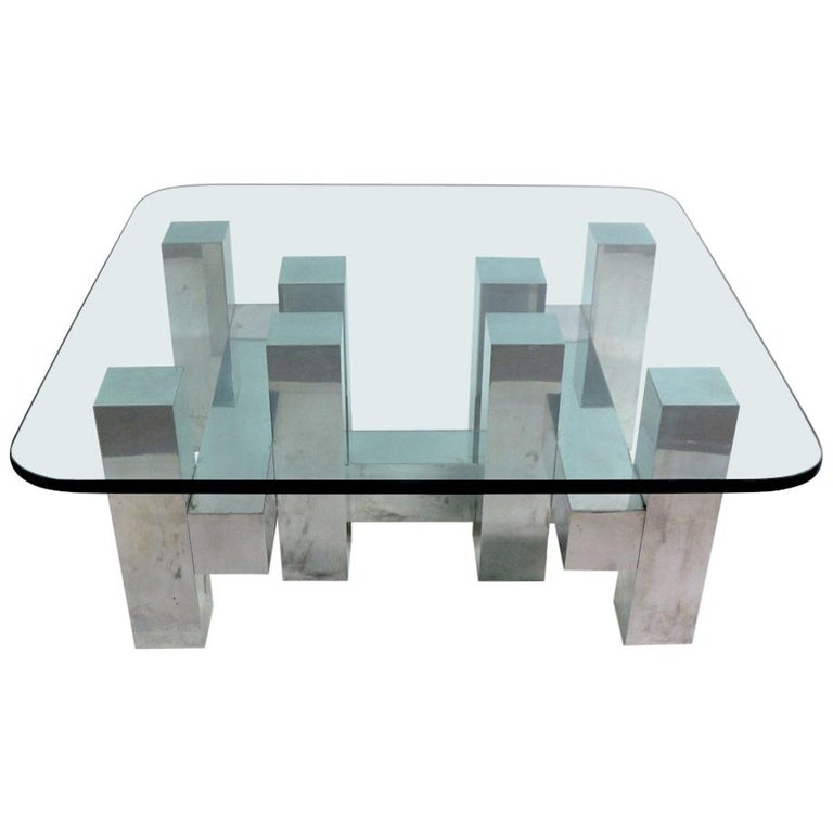 Cityscape Style Coffee Table By Paul Mayen For Habitat For Sale At