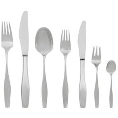 Extensive Hans Hansen Charlotte Silverware Set Design by Karl Gustav Hansen