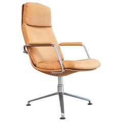 Kill International FK 86 Office Chair Cognac Leather by Kastholm & Fabricius