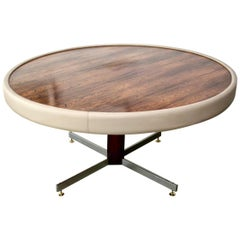 Vintage 1960s Round Table by Jorge Zalszupin
