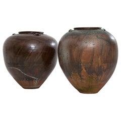 Very Large 20th Century Spanish Terracotta Pots