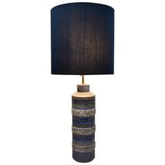 Italian Mid-Century Modern Ceramic Table Lamp by Aldo Londi for Bitossi
