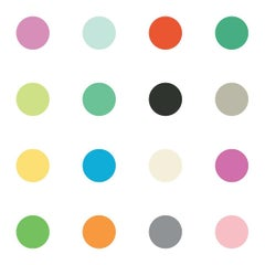Dots Multi-Color on Smooth Paper
