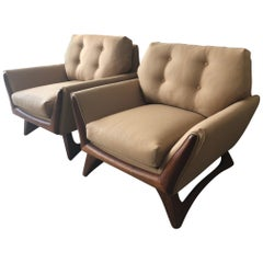 Pair of Adrian Pearsall Armchairs for Craft Associates