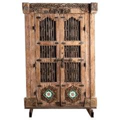 Impressive Set of Indian Doors with Surround