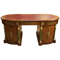 Egyptian Classical Revival Desk