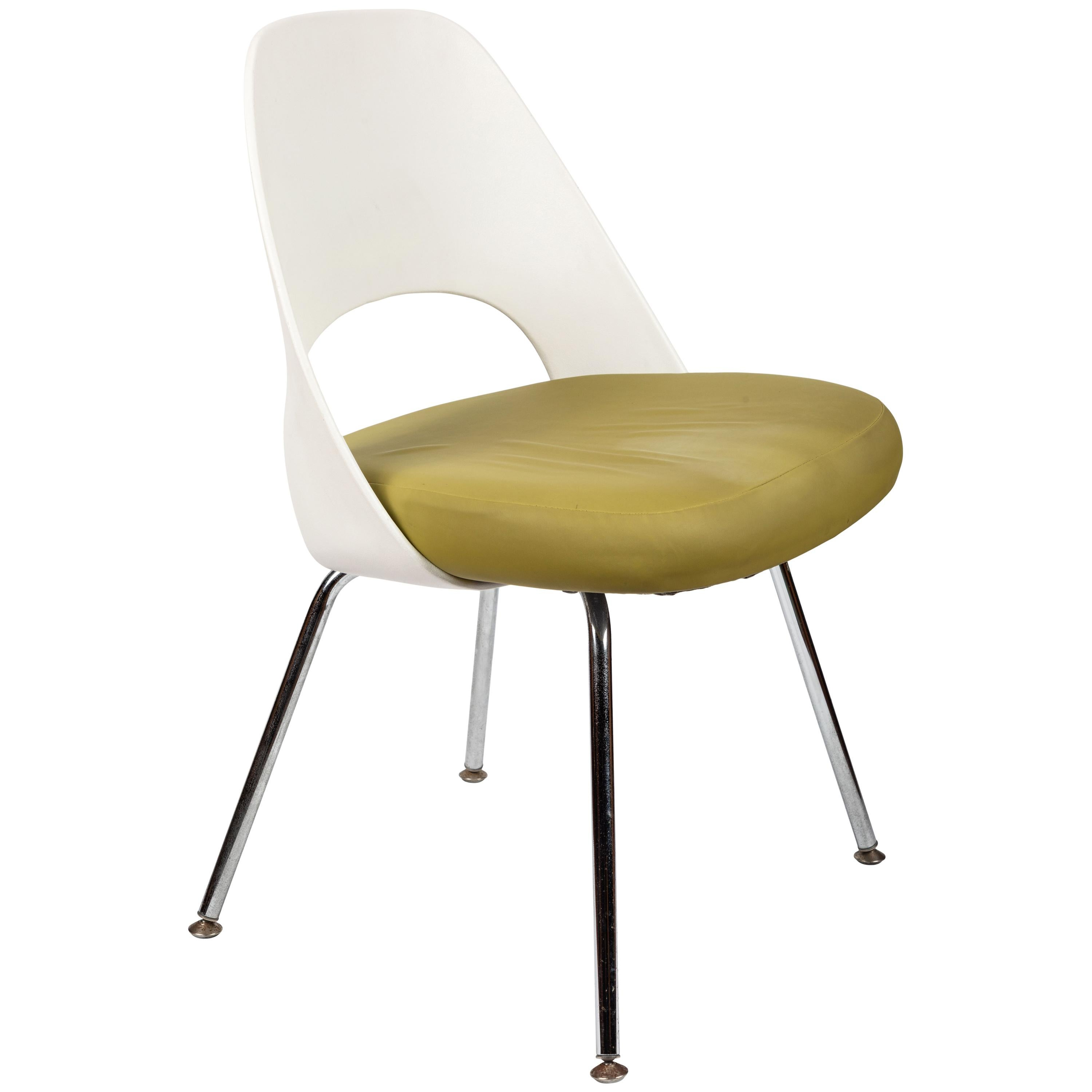 Saarinen Executive Side Chair with Metal Legs for Knoll