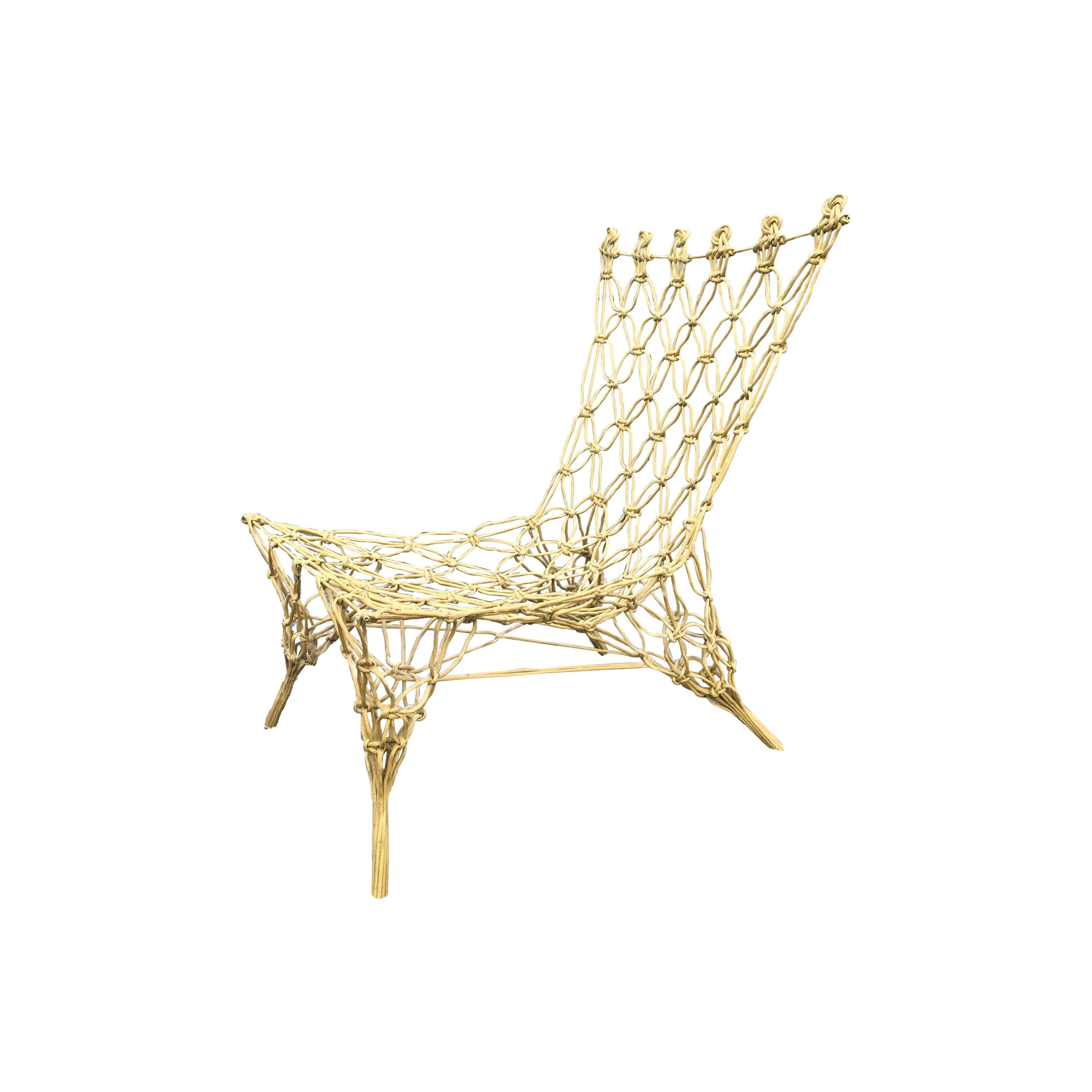 """Marcel Wanders """"Knotted"""" Chair"""